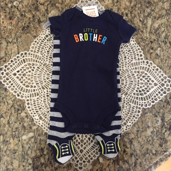 c15ec055a Carter's One Pieces | Carters Just One You Little Brother Outfit Nb ...